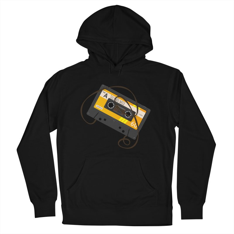 Techno music mixtape side A Men's Pullover Hoody by Strictly Underground Music's Shop