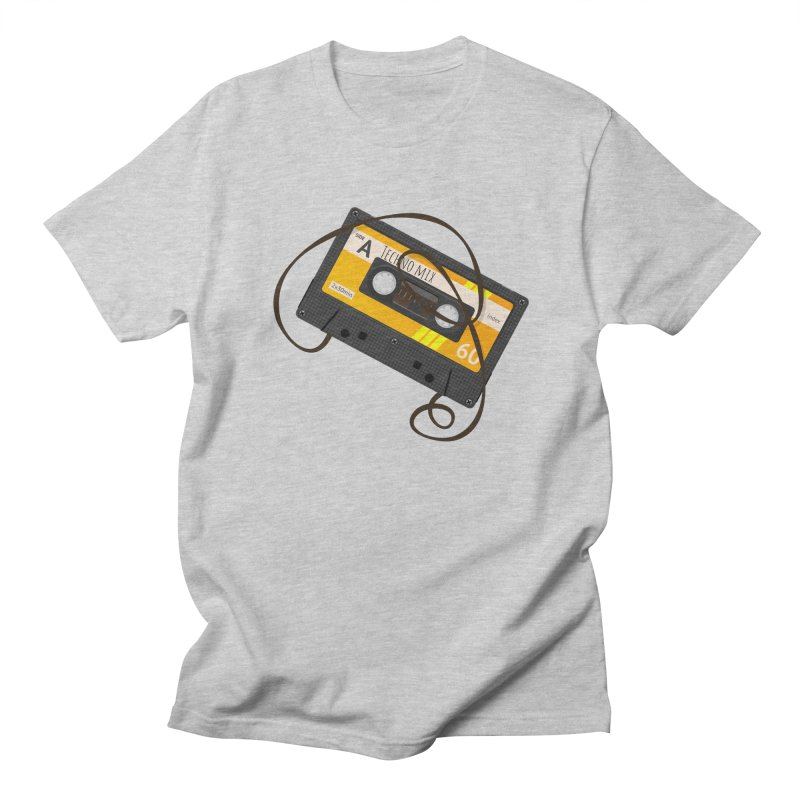 Techno music mixtape side A Men's Regular T-Shirt by Strictly Underground Music's Shop