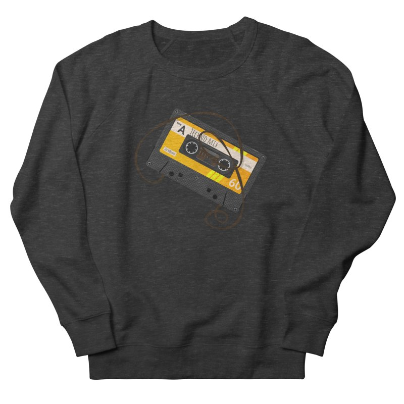 Techno music mixtape side A Women's French Terry Sweatshirt by Strictly Underground Music's Shop