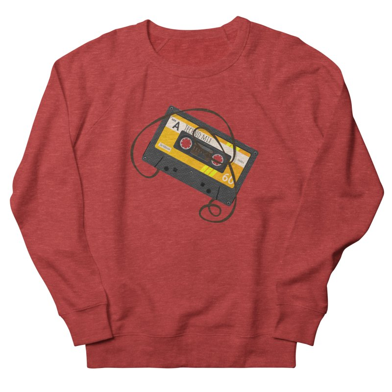 Techno music mixtape side A Men's French Terry Sweatshirt by Strictly Underground Music's Shop