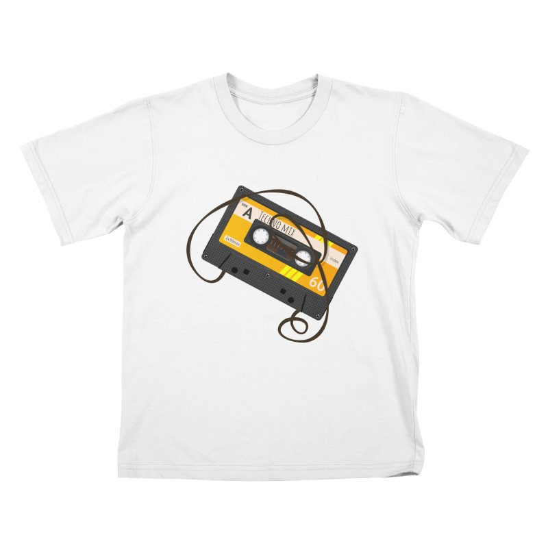 Techno music mixtape side A Kids T-Shirt by Strictly Underground Music's Shop