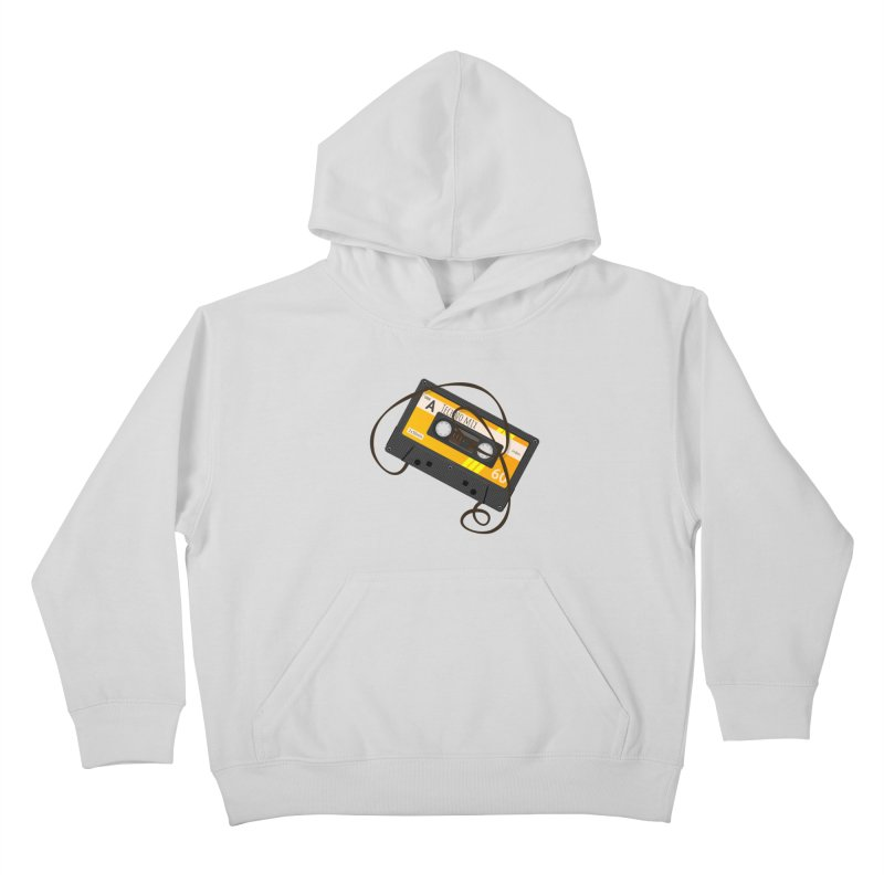 Techno music mixtape side A Kids Pullover Hoody by Strictly Underground Music's Shop