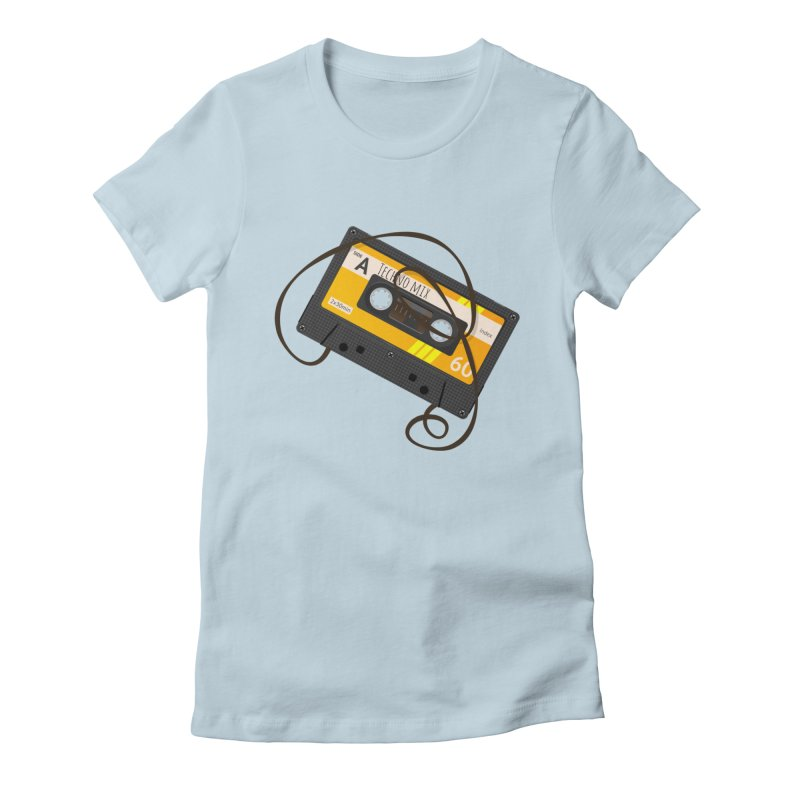 Techno music mixtape side A Women's T-Shirt by Strictly Underground Music's Shop
