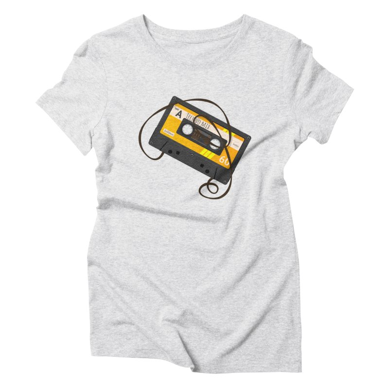 Techno music mixtape side A Women's Triblend T-Shirt by Strictly Underground Music's Shop
