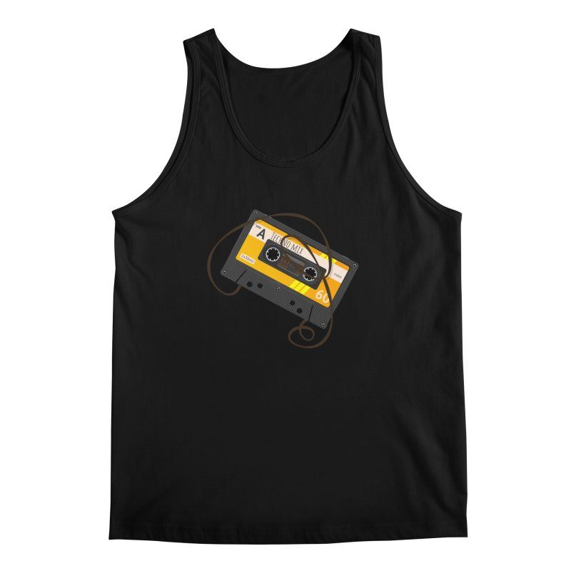 Techno music mixtape side A Men's Regular Tank by Strictly Underground Music's Shop