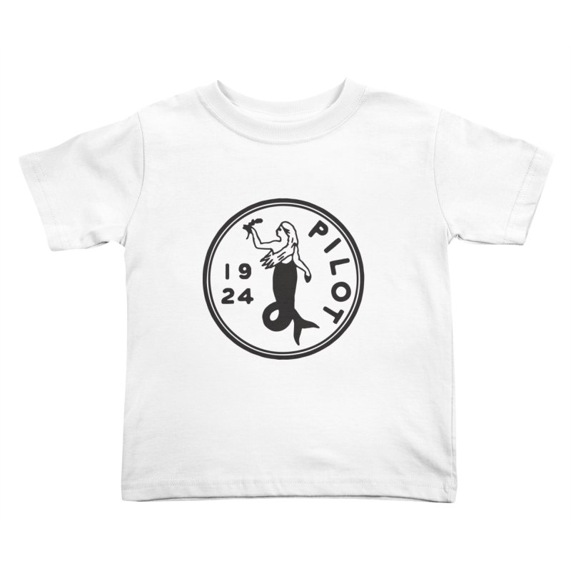 Pilot Mermaid Kids Toddler T-Shirt by C R E W