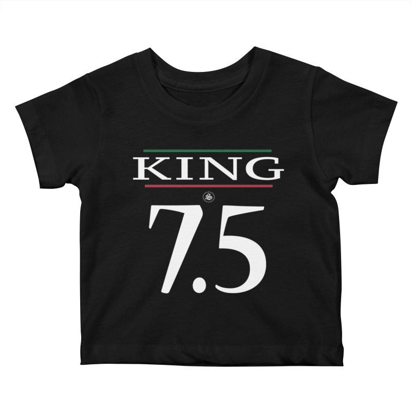 #7.5 Kids Baby T-Shirt by summer seventy six