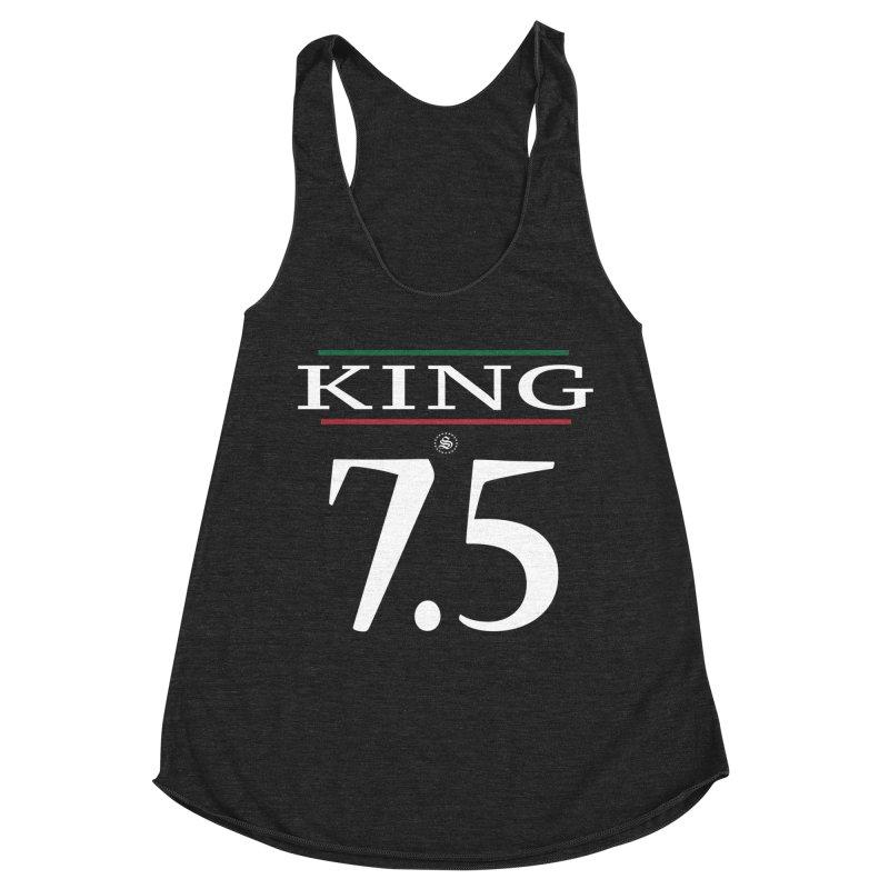 #7.5 Women's Racerback Triblend Tank by summer seventy six