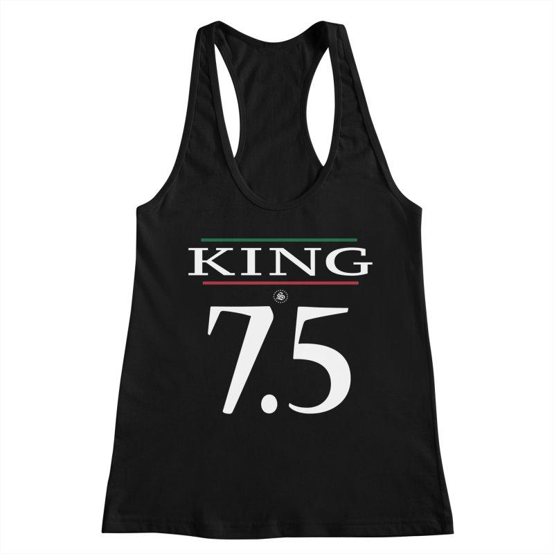 #7.5 Women's Racerback Tank by summer seventy six