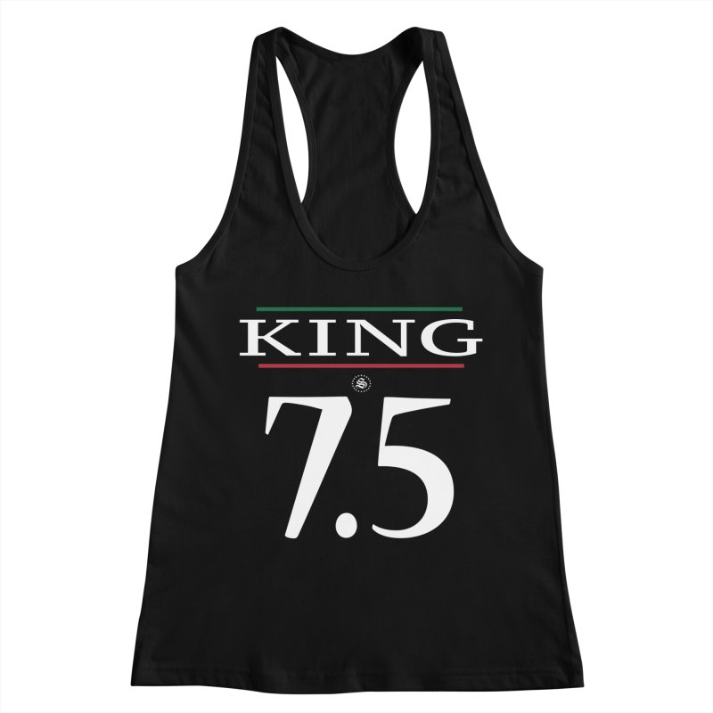 #7.5 Women's Racerback Tank by summer seventy six