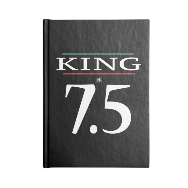 #7.5 Accessories Lined Journal Notebook by summer seventy six