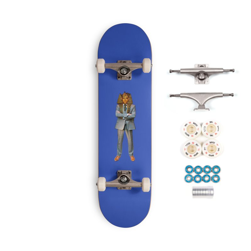 pharoah man Accessories Complete - Premium Skateboard by summer seventy six