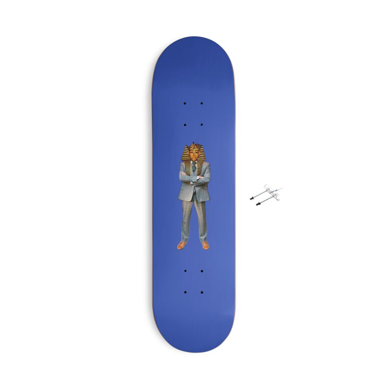 pharoah man Accessories With Hanging Hardware Skateboard by summer seventy six