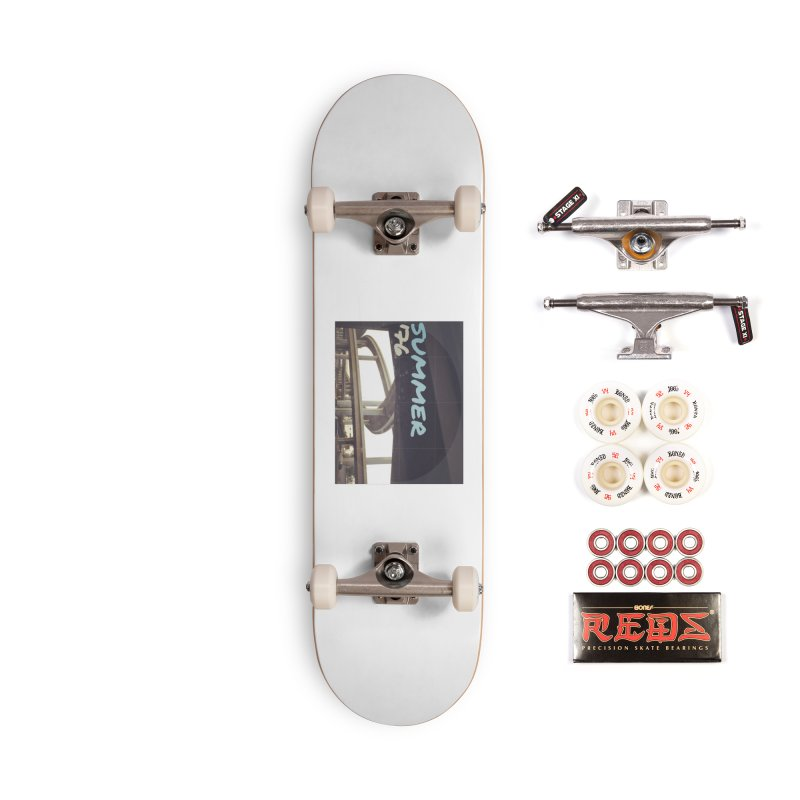 creating lanes Accessories Complete - Pro Skateboard by summer seventy six