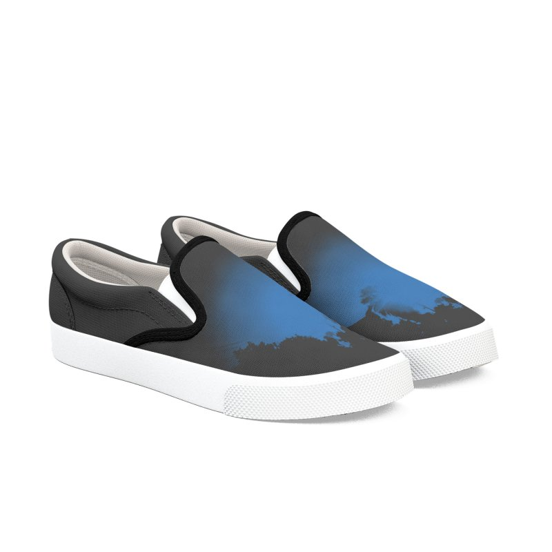 bluetiful day Women's Slip-On Shoes by summer seventy six
