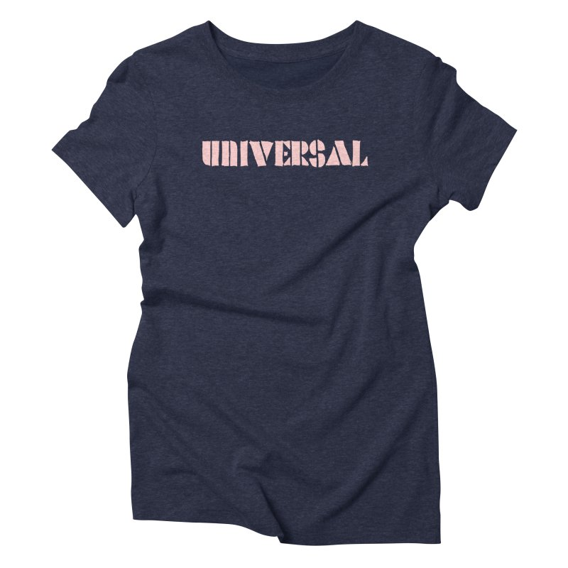 outchea pnk in Women's Triblend T-Shirt Navy by summer seventy six