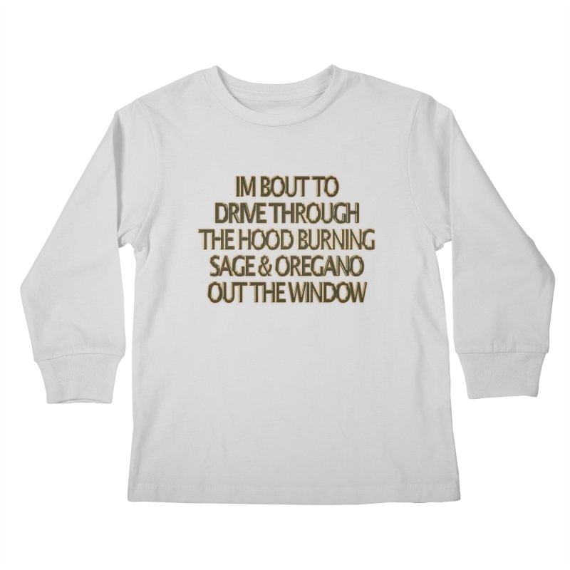 sage & oregano Kids Longsleeve T-Shirt by summer seventy six