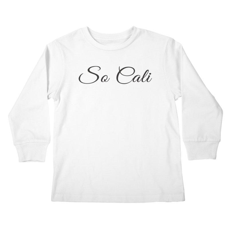 So Cali blk Kids Longsleeve T-Shirt by summer seventy six