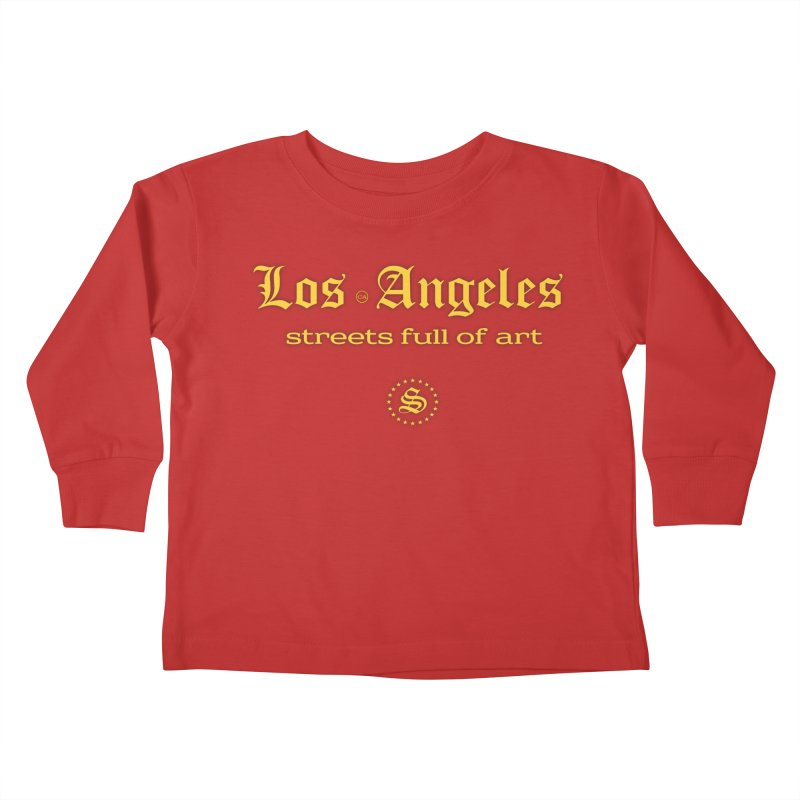 streets full FIGHT ON Kids Toddler Longsleeve T-Shirt by summer seventy six