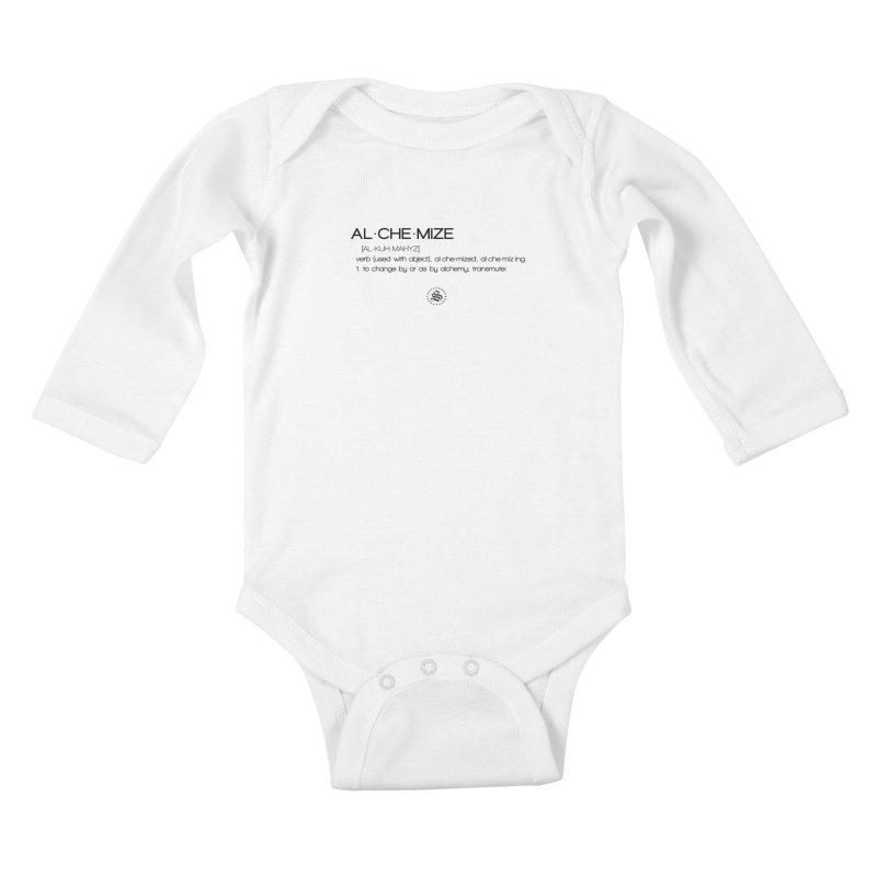 alchemized up Kids Baby Longsleeve Bodysuit by summer seventy six