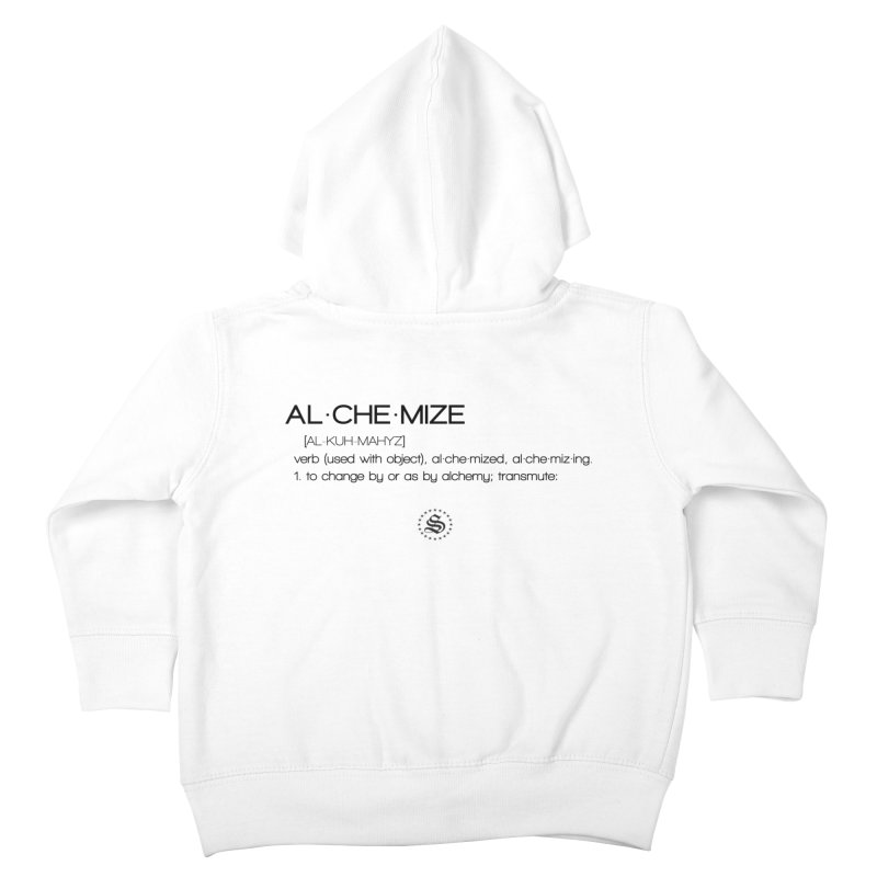 alchemized up Kids Toddler Zip-Up Hoody by summer seventy six