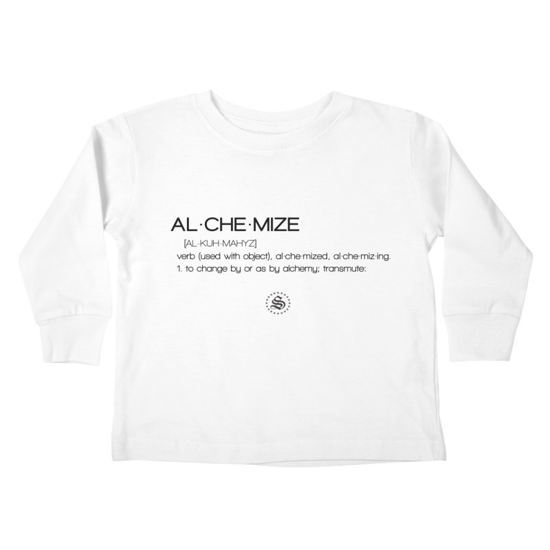 alchemized up Kids Toddler Longsleeve T-Shirt by summer seventy six