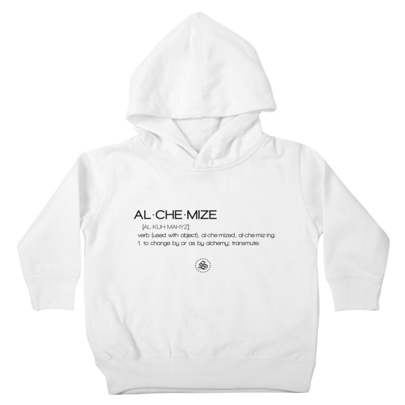 alchemized up Kids Toddler Pullover Hoody by summer seventy six
