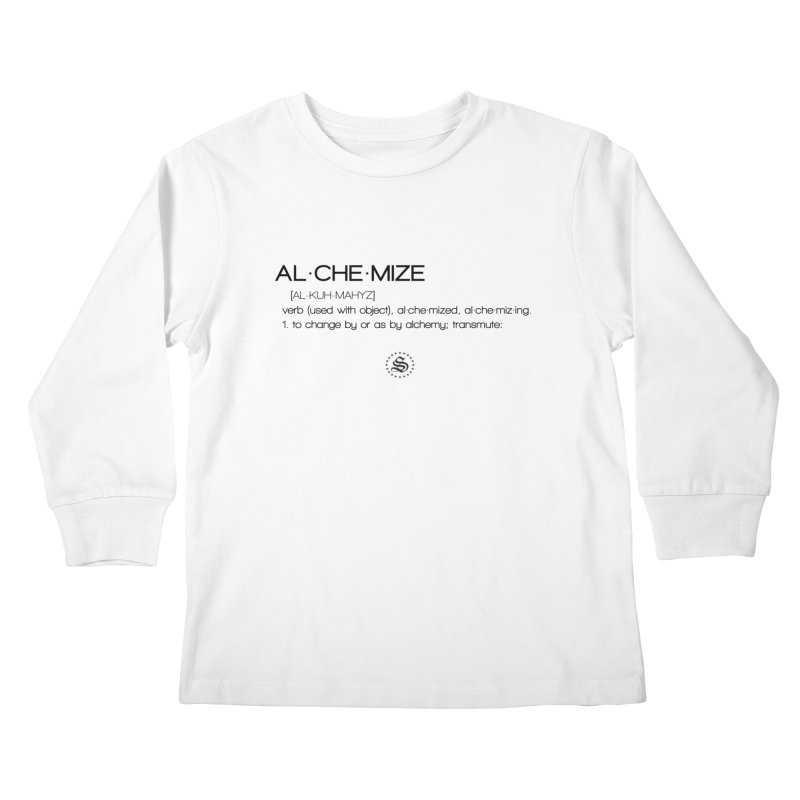 alchemized up Kids Longsleeve T-Shirt by summer seventy six