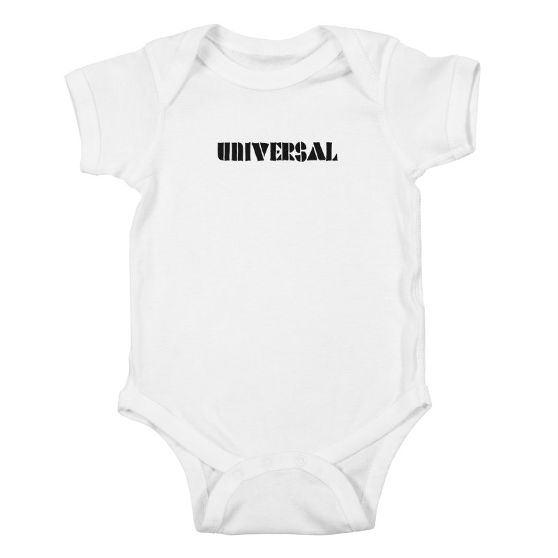 outchea blk Kids Baby Bodysuit by summer seventy six