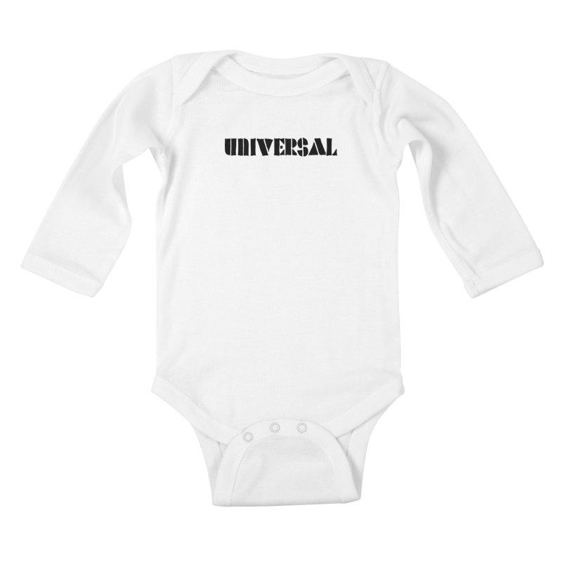 outchea blk Kids Baby Longsleeve Bodysuit by summer seventy six