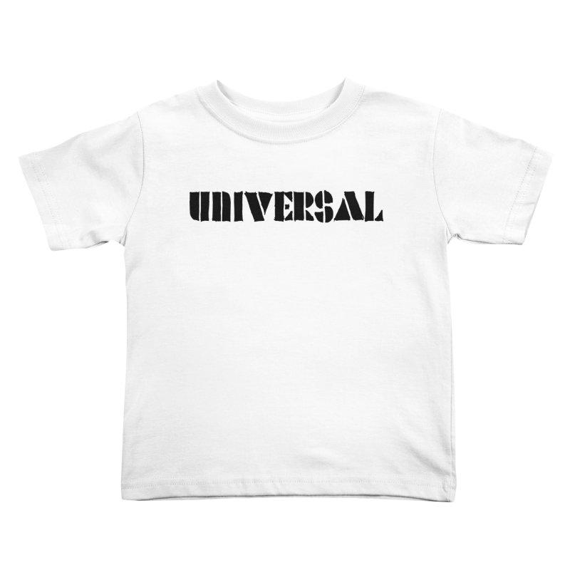 outchea blk Kids Toddler T-Shirt by summer seventy six