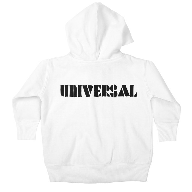 outchea blk Kids Baby Zip-Up Hoody by summer seventy six