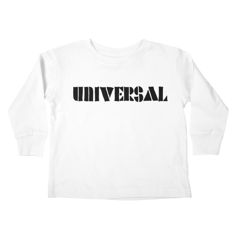 outchea blk Kids Toddler Longsleeve T-Shirt by summer seventy six