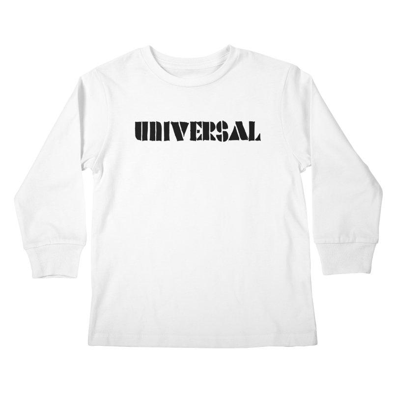 outchea blk Kids Longsleeve T-Shirt by summer seventy six