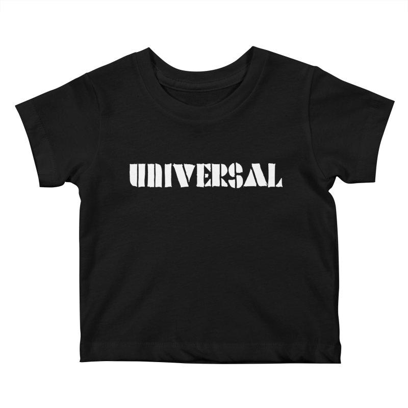 outchea wht Kids Baby T-Shirt by summer seventy six