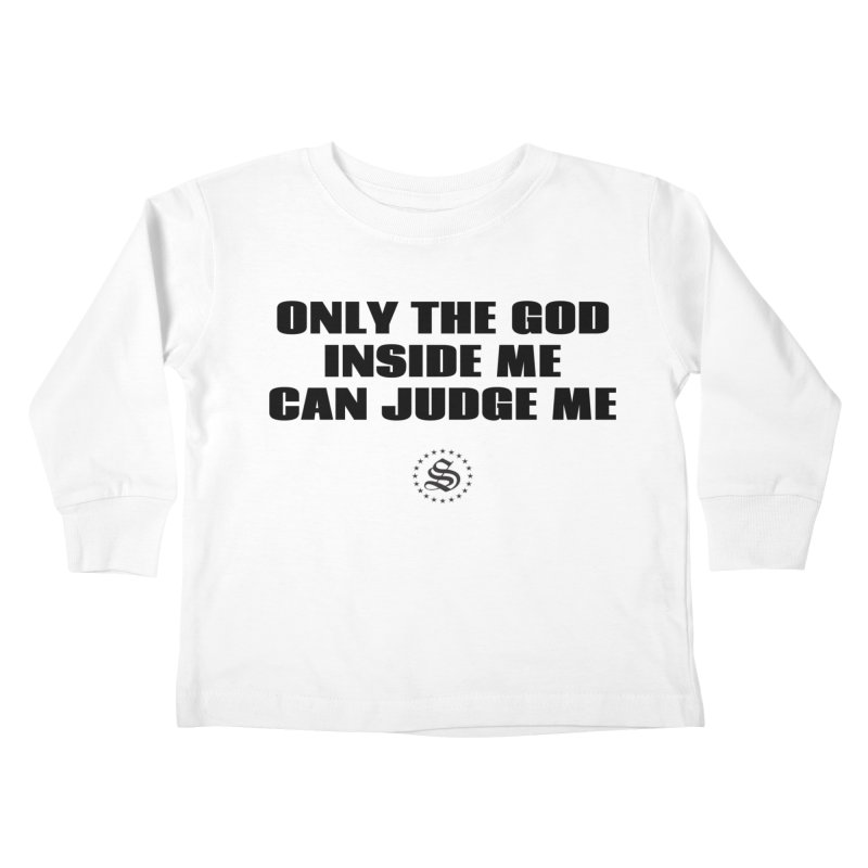 the god Kids Toddler Longsleeve T-Shirt by summer seventy six