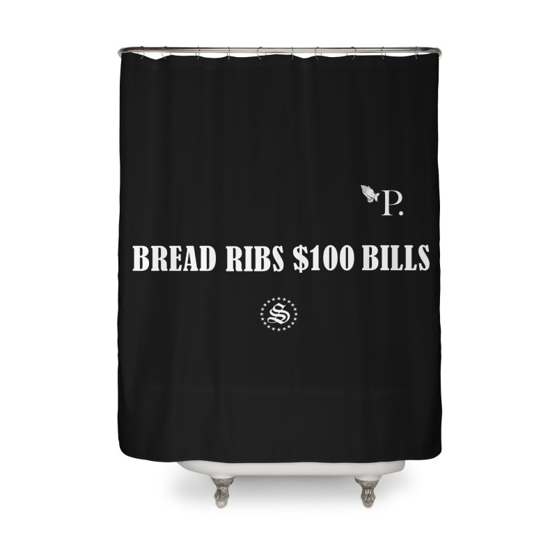 rip hnic wht. Home Shower Curtain by summer seventy six