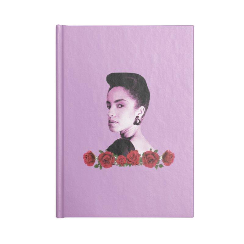 love sade Accessories Blank Journal Notebook by summer seventy six