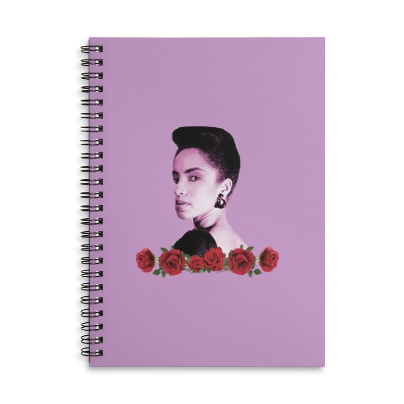love sade Accessories Lined Spiral Notebook by summer seventy six