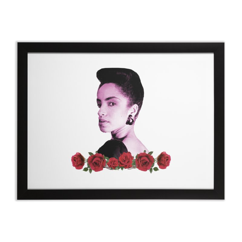 love sade Home Framed Fine Art Print by summer seventy six