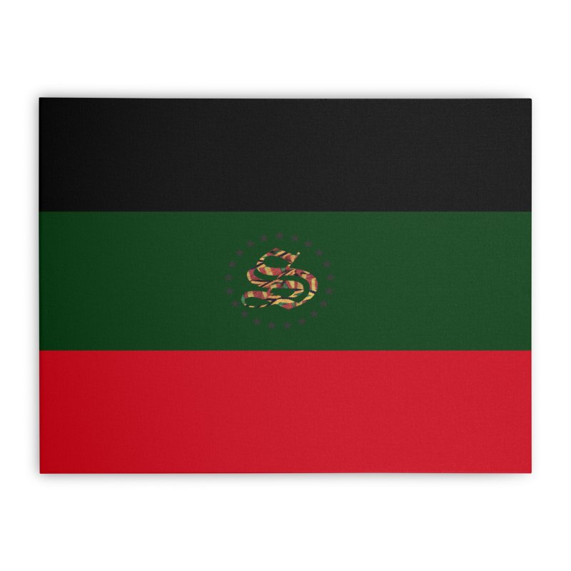 rbg kinte Home Stretched Canvas by summer seventy six
