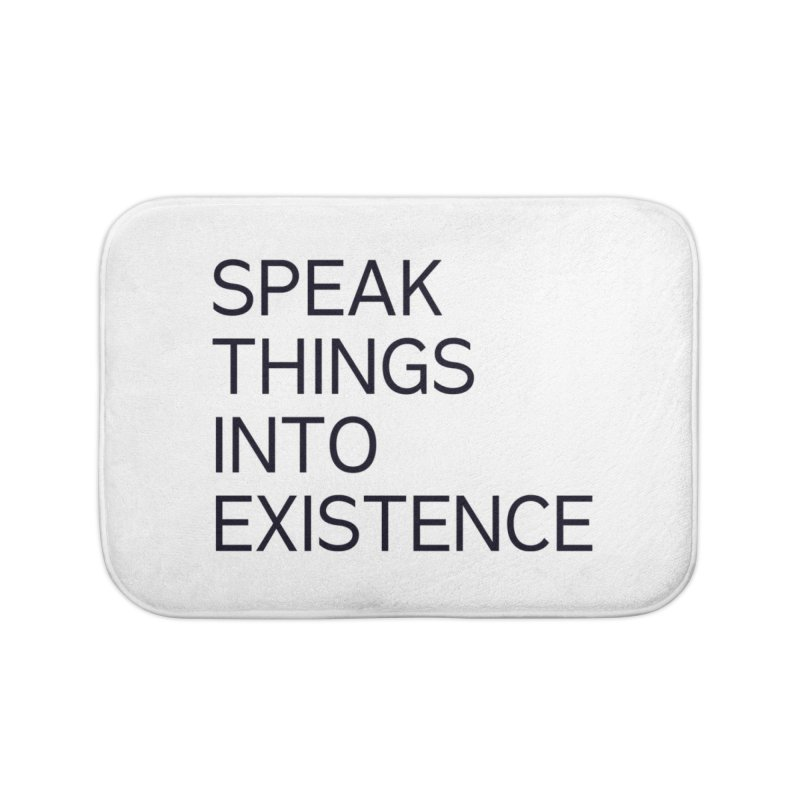 speak things Home Bath Mat by summer seventy six