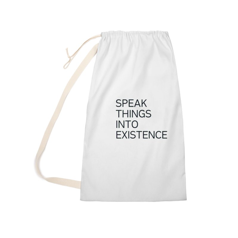speak things Accessories Laundry Bag Bag by summer seventy six
