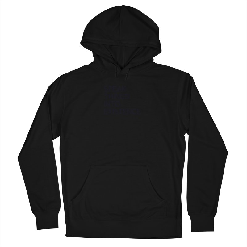 speak things Men's French Terry Pullover Hoody by summer seventy six