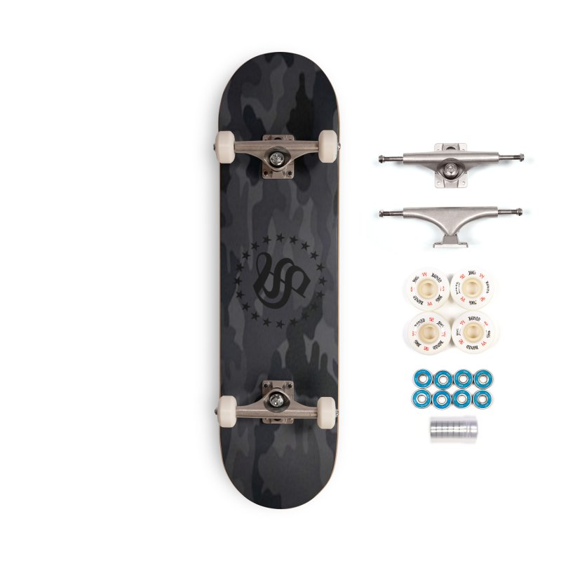 camo reg Accessories Complete - Premium Skateboard by summer seventy six