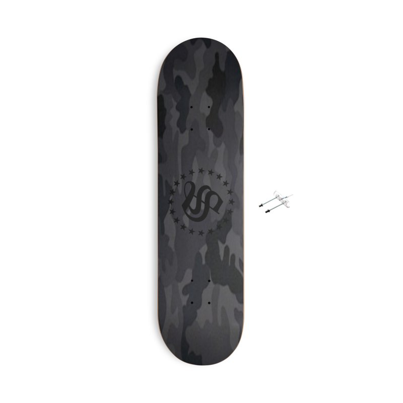 camo reg Accessories With Hanging Hardware Skateboard by summer seventy six