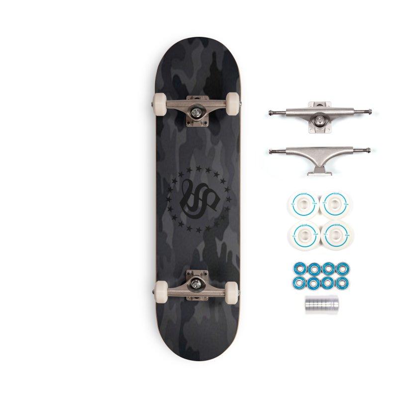 camo reg Accessories Complete - Basic Skateboard by summer seventy six