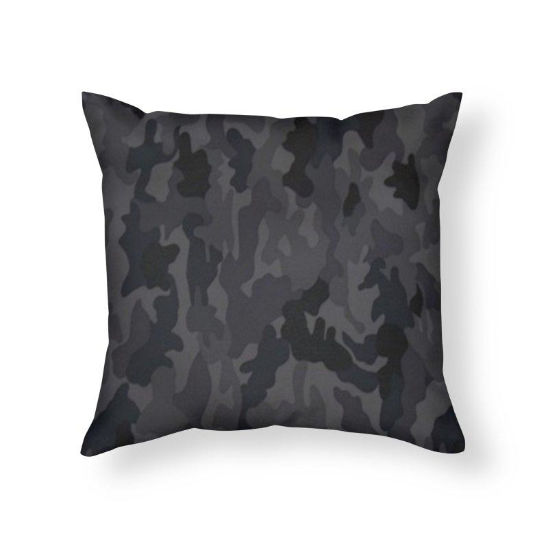 camo reg Home Throw Pillow by summer seventy six