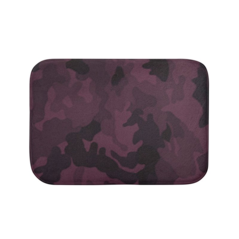 camo purple Home Bath Mat by summer seventy six