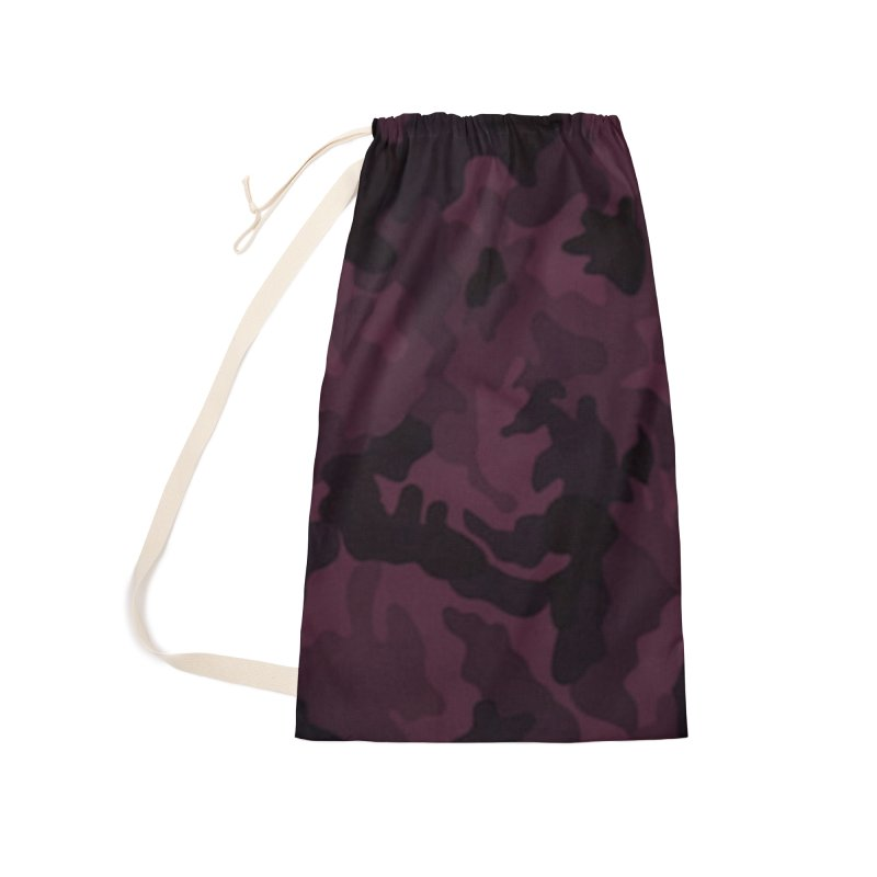 camo purple Accessories Laundry Bag Bag by summer seventy six